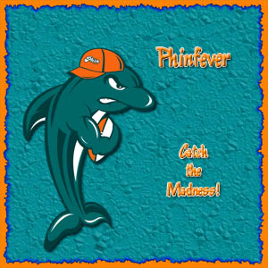 Miami Dolphins iPad Wallpaper, Phinfever